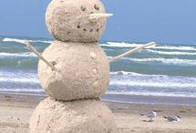 BEACHY HOLIDAY / Now, who wouldn't love to celebrate Christmas at the beach?  And decorate there, too! / by Tonja Owens