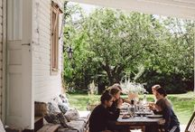 exteriors | gathering space