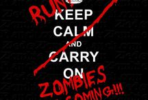 Zombies!!!!! / I am ready for the apocalypse!  Are you? / by Janelle Ratzlaff Cramer