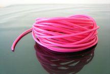 Cord & rope & ribbons