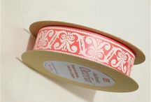 Printed Ribbons, made in England, Charles Clay English Ribbons