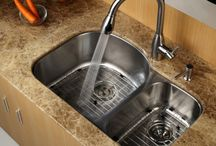 Sinks / Sinks commonly used in kitchen remodel projects. / by Kitchen & Countertop Center of New England