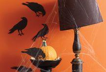 Halloween / Decoração de Halloween - ideias pra decorar festa
