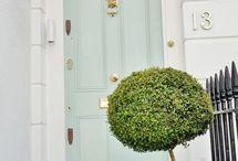 Doors / Make an entry with beautiful doors. Custom glass, craftsman details.