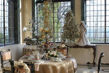 Tablescapes / Feel free to pin anything that strikes your fancy - If these images and links make you happy then it's a pleasure shared. / by Linda Laux