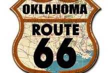 Route 66 / by Nancy Fricke