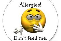 Allergy info / by Shonda Walker
