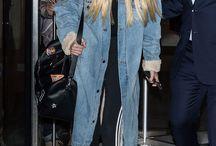 model mantel panjang jeans