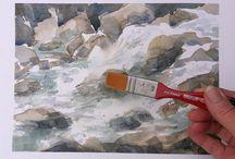 Tuto peinture à l'eau