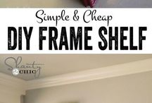 DIY Pictures and frames