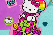 Rainbow Hello Kitty Party Ideas / Hello birthday! Bring Kitty White's rainbow style to your little girl's birthday party. Everything will look so cute, from the table to the room decorations, with our Hello Kitty ideas! / by Party City