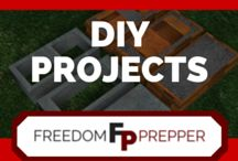 DIY Preparedness and Homestead Projects / Projects to make instead of buy, use these tips, tricks and tutorials to save money, and build your own preps.