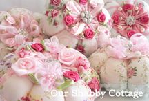 Shabby Pincushion