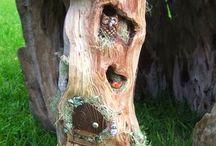 wooden garden naturell