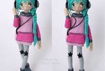 Wow crochet dolls