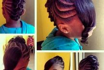 Cute hairstyles for little girls / by Roquel Peiffer