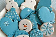 Расписные печеньки
