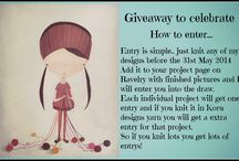 Giveaways on Facebook and Ravelry / Giveaways and the like