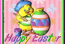 Kartki i obrazki świąteczne i okolicznościowe - Wielkanoc
