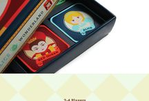 Inspiration: Board & Card Games / Beautiful art that you can play with!