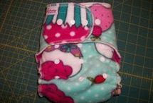 Sew hybrid diapers etc.