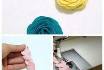 Diy Flower Sewing