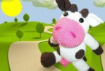 Mucche - Cow Crochet