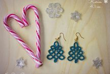Christmas gifts / My new tatting handmade collection <3