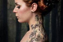 tatouage florale / Tattoo