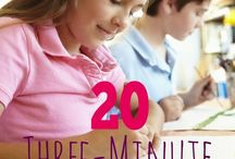 Teaching strategies / 20min activities
