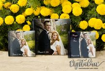 Wedding Albums / Examples of wedding albums that Crystaline Photography & Video offers