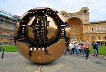 Vatikan / Vatikan Vatikanstadt Vatikanstaat Kunst Architektur Italien Italy Europe
