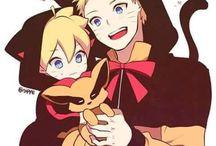 Boruto and Naruto ^•^
