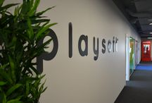 Playsoft's office / Our office in Gdańsk, Poland. Isn't it cool?