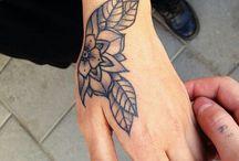 Hand Tattoos / Hand Tattoos