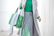 Стили сочетания цвета в одежде