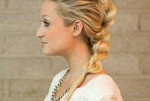 Mohawk pull throughout braid