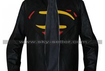 Multicolor Logo Batman Superman Leather Jacket / Get this iconic Bat-Sup Black Leather Jacket from Sky-Seller online store at most discounted price and avail free Shipping.