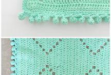 Crochet decorating and interior