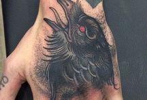 Corbeau tatouage