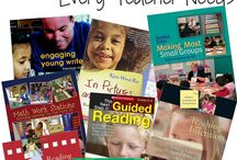 Teacher Resources / A board filled with book ideas, teaching strategies, classroom set up and more!