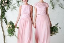 NEW | Bridesmaids Separates / Stunning brand new pretty in pink bridesmaid separates!