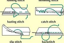 Types of Stitches / The art of stitching