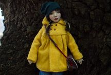 ''Taty into the woods'' by Romantic Wonders Dolls / Handmade Ooak art dolls by Romantic Wonders