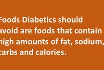 Foods Diabetics should avoid! / Foods Diabetics should avoid are foods that contain high amounts of fat, sodium, carbs and calories. These foods are harmful for diabetics as they pose the risk of increasing levels of cholesterol, blood pressure, blood sugar. They also have adverse impact on weight and heart health. As a general rule, we believe that if you see something that you really love to eat, you do not have to keep your hands off it just because you are diabetic. You can eat your favourite foods in limited quantity.