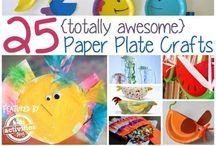 Paper plate ideas