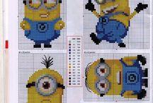 Cross Stitch-Minions.