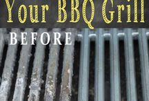 cleaning grills etc