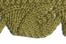 Edging Stitches / These stitches are featured in the Edging Stitches category in both the Master and the Gold versions of the Pick-A-Stitch Digital Knitting Stitch Collections. / by Pick-A-Stitch on Pinterest