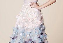 flower petals dress